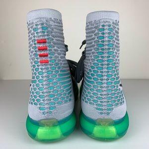 separation shoes 71ef3 c86d8 Nike Shoes - Nike Kobe X 10 Elite Elevate Grey green Flyknit